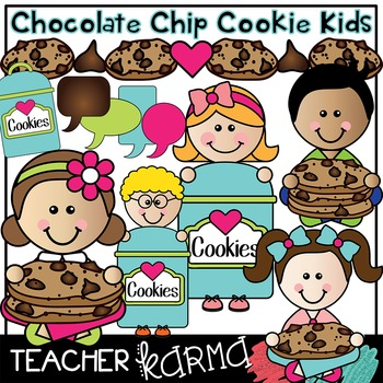 Chocolate Chip Cookie KIDS * SELLER'S Kit *  Math & Counting