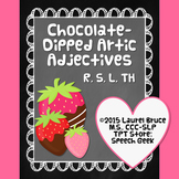 Chocolate-Dipped Artic Adjectives