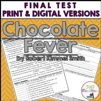 Chocolate Fever Final Test