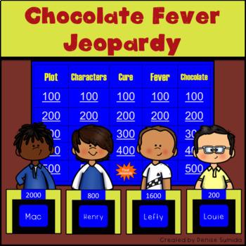 Chocolate Fever by Robert Kimmel Smith Jeopardy