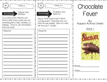 Chocolate Fever by Robert Kimmel Smith ~ Trifold