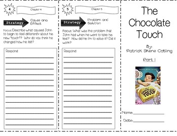 Chocolate Touch by Patrick Skene Catling ~ Trifold