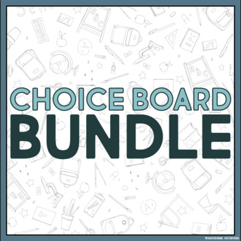 Choice Board Growing Bundle: Access to All My Choice Board