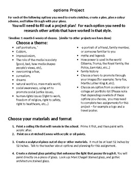 Choice Options Project Grade 12