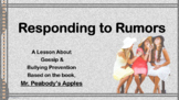 Choices Rumors Bullying Guidance Lesson Powerpoint w link