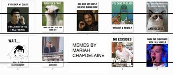 Choir Poster Memes