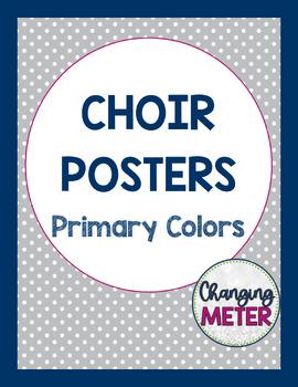 Choir Poster Pack