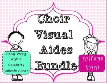 Choir Visual Aides  Bundle