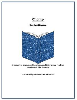 Chomp Complete Literature, Grammar, & Interactive Foldables Unit