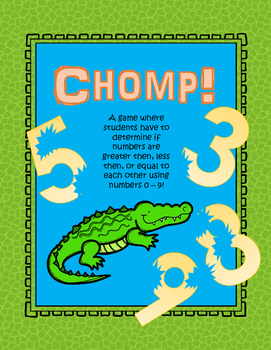 Chomp! (Greater/Less than using a number line)