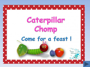 The Very Hungry Caterpillar - Caterpillar Chomp sight words