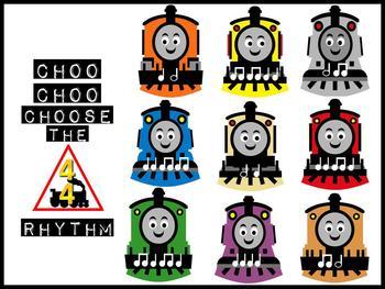 Choo Choo Choose the Rhythm Music Bulletin Board