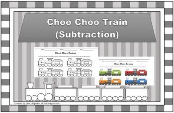 Choo Choo Train (Subtraction)