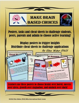 Choose Brain Based Approaches from Posters, Tasks and Chea