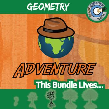 Choose Your Own Adventure -- GEOMETRY BUNDLE -- 15 Activities!