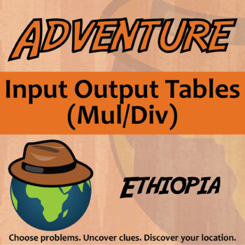 Choose Your Own Adventure -- Input-Output Tables (Mul/Div)