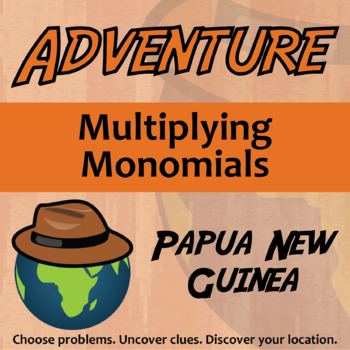 Choose Your Own Adventure -- Multiplying Monomials -- Papu