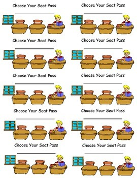 Choose your Seat Pass