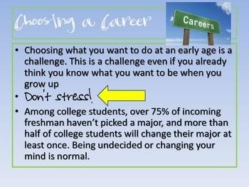 Choosing A Career Powerpoint