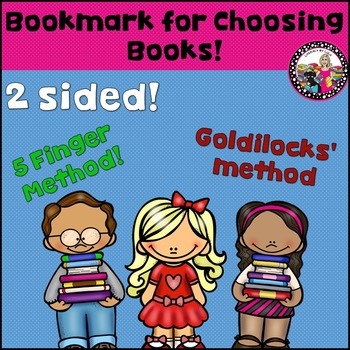 Choosing Books-2 strategies-bookmark