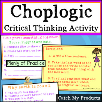 Choplogic - Creative Thinking for Gifted and Talented Stud