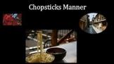 Chopsticks Manner