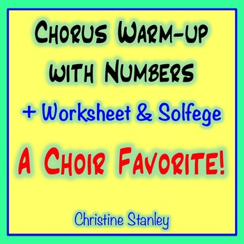 Chorus Warm-up With Numbers  ♫   15453525 .... etc.  ♫ She