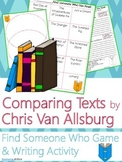 Chris Van Allsburg Author Study {Comparison & Contrast Wri