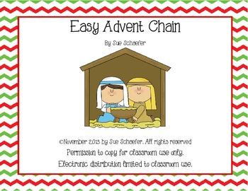 Christamas Advent Chain