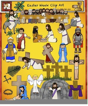 Easter, Religious Clip Art from Charlotte's Clips Catholic