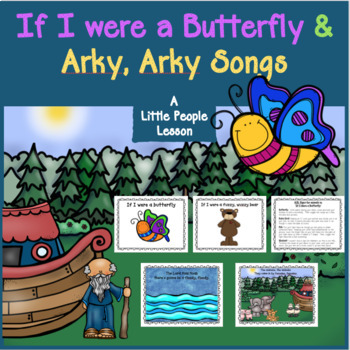 """Christian Song Books for """"If I Were a Butterfly"""" and """"Arky"""