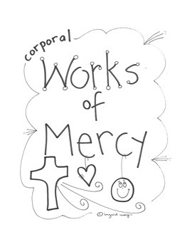 Christian and Catholic Corporal Works of Mercy Booklet
