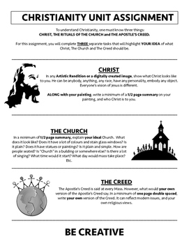 Christianity Unit Assignment