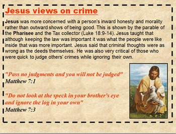 Christianity and Punishment
