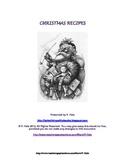 Christmas Recipes FREE Printable Recipe Booklet