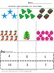 Christmas Math Centers Cut and Paste Counting Addition Sub