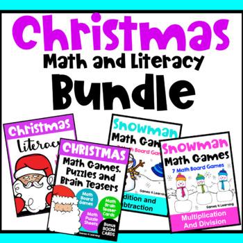 Christmas Activities: Christmas Math Games, Christmas Word