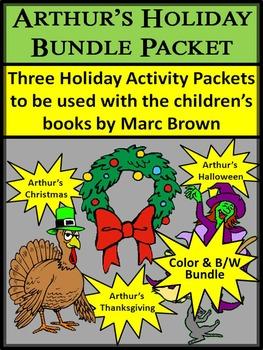 Christmas Activities: Arthur's Holiday Bundle