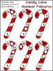 Christmas Math Activities: Candy Cane Number Patterns Chri