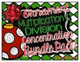 Christmas Ornament Multiplication & Division {A Concentrat