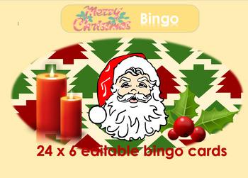 Christmas 2016: Bingo and dominoes