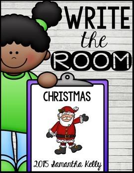 Christmas Write the Room Center