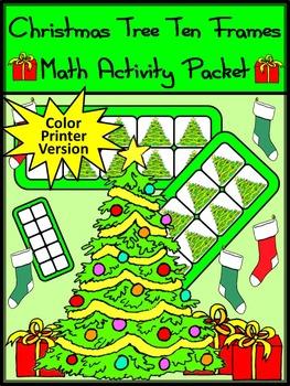 Christmas Game Activities: Christmas Tree Christmas Ten Fr