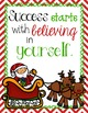 Christmas Themed Motivational Posters