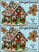 Gingerbread Math Activities: Gingerbread House Roll & Cove