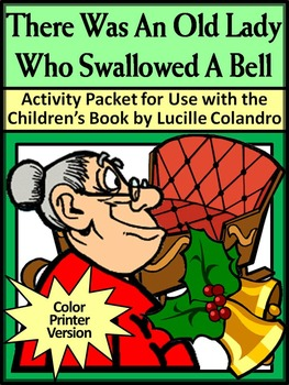 Christmas Reading Activities: Old Lady Who Swallowed a Bel