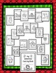 Christmas Bundle: Counting Puzzles, Pennant, Vocabulary Bo