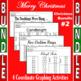 Christmas Bundle #2 - 4 Coordinate Graphing Activities