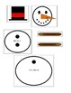 Winter - 5th Grade Order of Operations Build a Snowman for