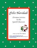 Christmas 6-12 Spanish Activities/ Navidad